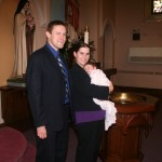 Steve and Alice in 2011 at Katrina's baptism.