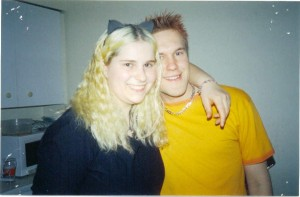 Steve and Alice at FASS in 2003.